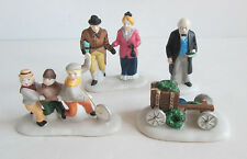 Dept 56 Dickens Village ~ Nicholas Nickleby Characters ~ Set of 4 Mib 59293