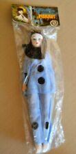 PIERROT BAMBOLA Doll/Bambolina TOYS VINTAGE 1970/80 Vestito Celeste Blue Dress