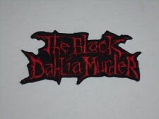 THE BLACK DAHLIA MURDER IRON ON EMBROIDERED PATCH