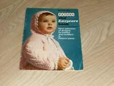 PATONS. VINTAGE  BABY KNITTING PATTERNS. 2nd  EASYCARE BOOK. 50 PAGES.