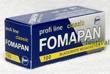 3 rolls FOMAPAN 100 120 Film Black & White Medium Format B/W
