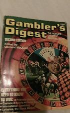 VINTAGE CASINO GAMBLERS DIGEST 1981 SECOND EDITION FREE SHIPPING