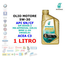 1 LT OLIO MOTORE 5W30 PETRONAS SYNTHIUM 5000 XS API SN / CF ACEA C3 GM DEXOS 2