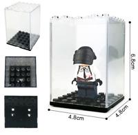Bausteine Figur Show Box Display Case Spielzeug Geschenk Modell 10pcs