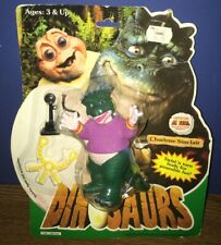 CHARLENE SINCLAIR ACTION FIGURE MOC NEW DINOSAURS DISNEY HASBRO (WORN CARD)
