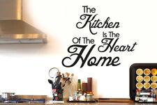 The Kitchen The Heart Of The Home Vinilo Decorativo Pegatinas De Pared Adhesivo