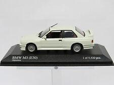 BMW M3 (E30) 1987 Alpinweiss 1/43 Minichamps nr. 430020304