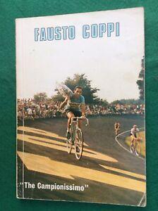 Fausto Coppi The Campionissimo Book 1970 Dominica Del Corriere 63 Pages