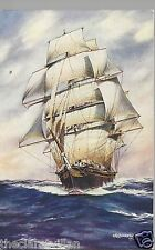 Cutty Sark AFD Bannister 1931  Old Unposted Postcard
