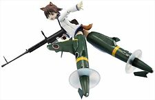 Bandai Armor Girls Project Strike Witches Yoshika Miyafuji Shinden Ver Figure