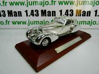 SIL5G VOITURE 1/43 IXO CHROME : Mercedes Benz 500 K