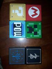 6 Boitiers jeux nintendo switch pour 12 cartouches 4 boites power A + 2 Hori EX