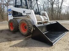 "NEW 72"" POWDER COATED SMOOTH BUCKET FOR SKID STEER LOADER - FREE SHIPPING"