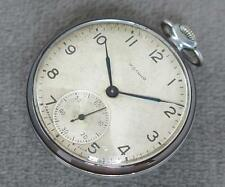 EARLY RARE Vintage Soviet USSR Pocket watch Molnia Molnija 15j SLIM 2-1959!
