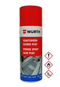 Würth Kraftsprühkleber Plus Sprühkleber Kontaktkleber Industriekleber 1x 400ml