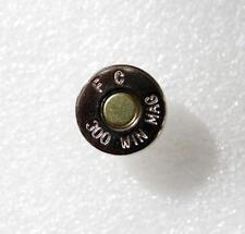 .300 Winchester Magnum CARTUCCIA F C 300 Win Mag FAKE Bottone a Pressione Bottone bottone in metallo