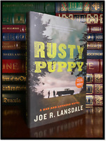 Rusty Puppy ✎SIGNED✎ by JOE LANSDALE New Hardback 1st Edition First Printing