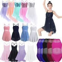 6375514f8054 White Angel Tutu Leotard Girls Dance Fancy Dress Ballerina Ballet ...