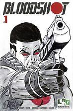 HERO INITIATIVE BLOODSHOT 50 PROJECT Original cover: DON PERLIN CGC 9.4