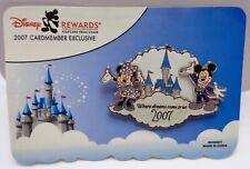 Disney's Rewards Visa Cardmember Pin 2007 Mickey & Minnie Pin