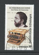 Oostenrijk - Schrijfmachine - 2017 gestempeld