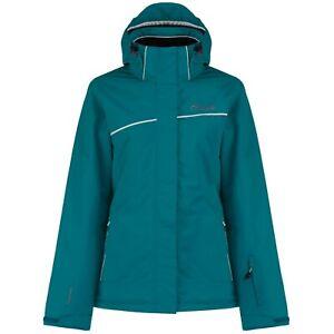Female ski jacket and winter coat. Dare2B. Blue. Size 8. Go Easy.