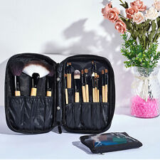 Makeup Brush Pens Traveling Storage Empty Holder Cosmetic Zippe Bags Case ONE