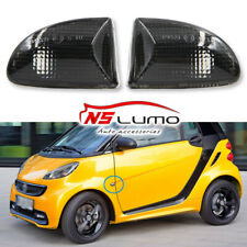 2x OEM LED Side Marker Turn Signal Lights For 2007-2015 Smart Fortwo 451 Smoked