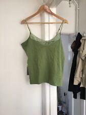 Mistral Size Uk 18 Green Sleeveless Top Vest.  (a14)