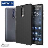 Matte Gel TPU Jelly Soft Case Cover For Nokia 8 Nokia 6 Nokia 5 Nokia 3