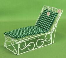 411 Vintage Dollhouse Miniature Handcraft Designs Inc Garden Sunbed 4103