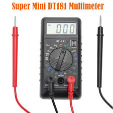 Nero Mini Dt83b Tasca Tipo LCD Digitale Multimetro Tester Batteria Capacità Test