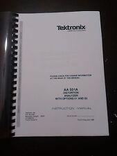 TEKTRONIX AA501A INSTRUCTION MANUAL