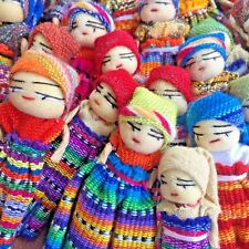 Worry Dolls for Art and Craft from Guatemala x 30 Handmade Bulk lot 16
