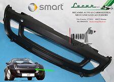 PARAURTI ANTERIORE CENTRALE NERO SMART ROADSTER 452 4/2003 > 12/2005  ORIGINALE