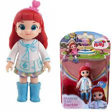 """Regenbogen Ruby Doctor Doll Spielzeug Puppe Actionfigur für Kinder 10 cm (4 """")"""