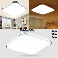 Modern LED Square Ceiling Down Light Bedroom Living Room Lamp Surface Mount New