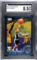 2002 Tim Duncan Topps Chrome 78 With Kobe Bryant - SGC 8.5 - Possible PSA 9