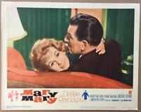 Debbie Reynolds MARY MARY 1963  #7 Original Lobby Card 429