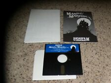 Maniac Mansion Commodore 64 Game with manual and poster  - Tested
