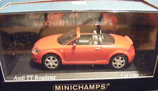 Audi TT Roadster, Red 1999 Road Cars, Minichamps 430 017237  Diecast  1/43