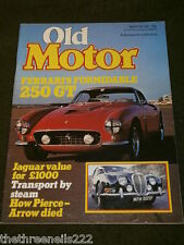 OLD MOTOR - FERRARI 250GT - MARCH 1981