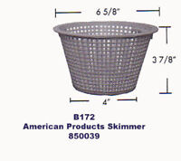 Pentair FAS100 Above Ground Pool Skimmer Basket Replacement for 85003900
