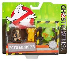 Ghostbusters Abby, Slimer with Hot Dog, and Splitting Ghost Mini Figure 3 Pack