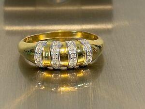 925 Silber Diamant Ring HIGHLIGHT HIER >  32 Diamanten / Ring  Gr. 17