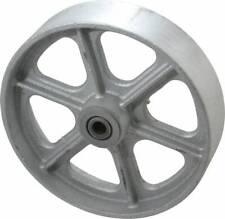 Albion 8 Inch Diameter X 2 Inch Wide Cast Iron Caster Wheel 1800 Lb Capaci