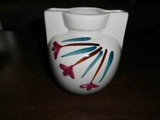 "Vintage Purinton Pottery Co. 6"" Shooting Star Handled Vase"