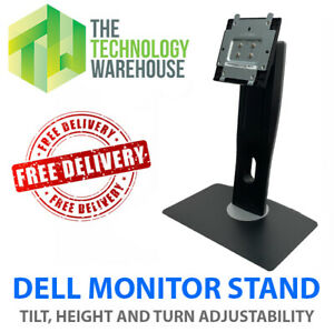 Dell Monitor Stand for Dell Monitors - Height Swivel Rotate Tilt Adjust U2913WMT