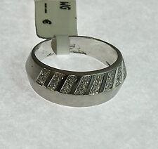 Diamantring     Weißgold  .585  Gr. 59   #  G 3406