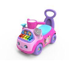 NEW Fisher Price Music Parade Ride On Pink Seat Storage Christmas Birthday Gift